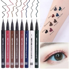 XIXI Natural Eyeliner Fast Dry Waterproof Anti Sweat And Non Halo Dyeing Liquid Eyeliner Pen Sky Blue