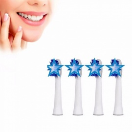 1 Set High Quality Replacement Brush Heads Compatible For Oral Hygiene B SR32-4/S32-4 Electric Toothbrush Multi