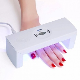 Mini Foldable 1.7W LED Nail Dryer Fast Drying Lighting USB Hydrogel Phototherapy Machine Nail Art Tool White