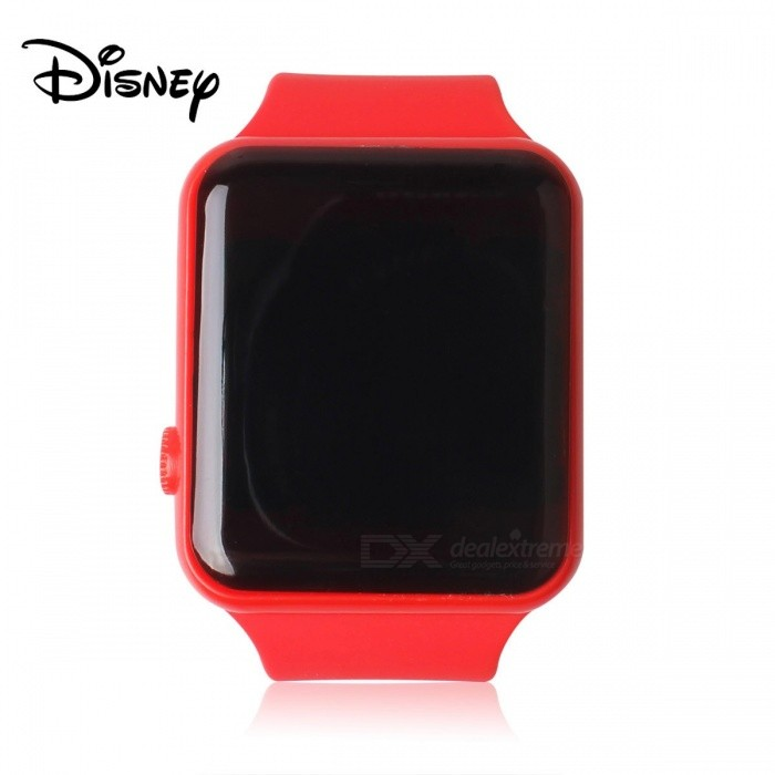 Disney-Once-LED-Digital-IAD-Wrist-Watch-Toys-Learning-Tool-For-Children-Above-3-Years-Of-Age-Red