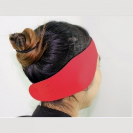 Sportswear Yoga Hair Bands Waterproof Ear Protector Non-slip Sport Fitness Yoga Hairbands M Size Red