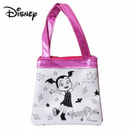 Disney Vampiric Handmade Handbags Kids Toys Children DIY Bags Tools Pink