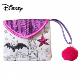 Disney Vampiric Handmade Handbags Kids Toys Children DIY Bags Tools Purple