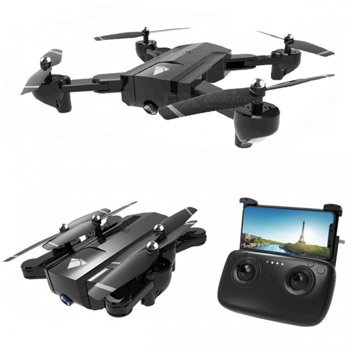 SG900 Wi-Fi FPV Foldable Selfie RC Helicopter Quadcopter Drone with HD 720P Camera, Optical Flow Positioning, 22mins Flight Time