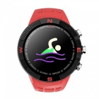 New F18 Fashion Smart Watch with GPS/ Beidou /GLONASS Three Positioning / Heart Rate Monitoring / Compass / Multiple Sports Mode