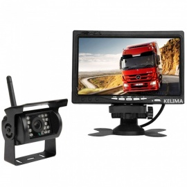Quelima-KELIMA-7-Inch-Wireless-Car-Monitor-AV-Two-way-Bus-Rear-View-System-Display-Infrared-Car-Rear-View-Camera-Display