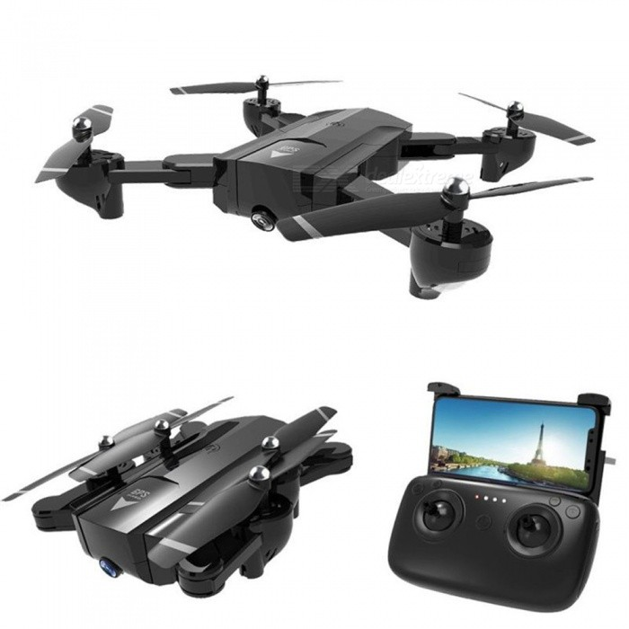 SG900 Wi-Fi FPV Foldable Selfie RC Helicopter Quadcopter Drone with HD 720P Camera, Optical Flow Positioning, 11mins Flight Time