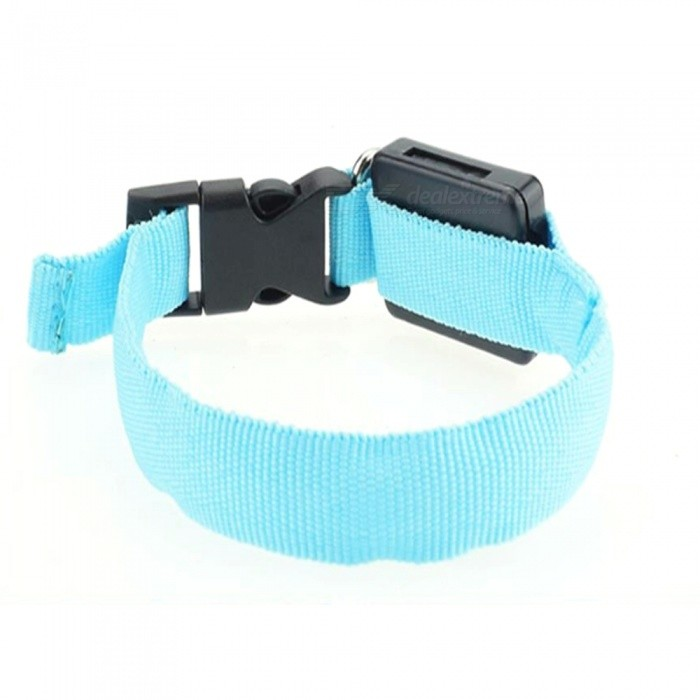 Adjustable Glowing Dog Collar, Nylon LED Small Pet Dog Collar Necklace, Cat Collar Pet Product