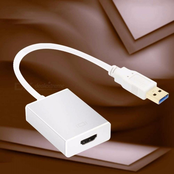 USB-30-To-HDMI-Adapter-Cable-Converter-For-Laptop-Desktop-Silver