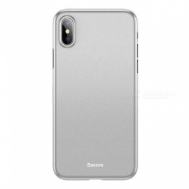 BASEUS Ultra Thin Anti-Fingerprint Anti-Scratch Frosted Phone Case Cover For IPHONE XR, XS MAX, X / XS Black/iPhone X/XS 5.8
