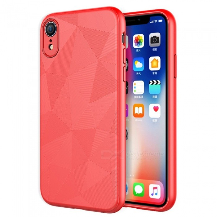timeless design 4fd19 e8996 New Creative Mobile Phone Fitted TPU Cases Business Dirt-resistant Phone  Protector For IPhone XR/XS Max/X/XS Red/IPHONE XR