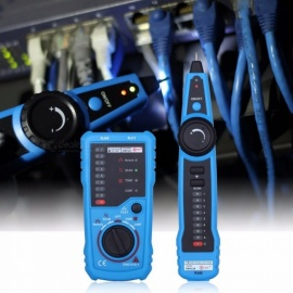 BSIDE FWT11 RJ11 RJ45 Cat5 Cat6 Telephone Wire Tracker Tracer Toner, Ethernet LAN Network Cable Tester Line Finder Blue