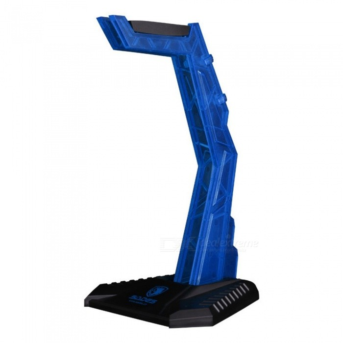 Detachable-Desktop-Type-Acrylic-Gaming-Headphone-Display-Bracket-Stand-Support-Red