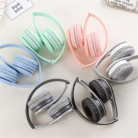 GJ-19-Portable-Simple-Folding-35mm-Wired-Headphone-Lightweight-Headband-Headset-Fro-Students-White