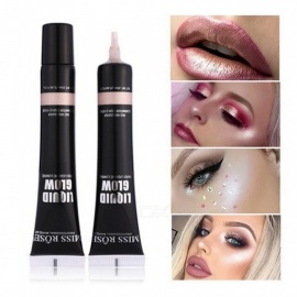 MISS ROSE 20ml High Light Face Liquid Foundation Base Beauty Makeup Full Coverage Concealer Whitening Bronzer Chocolate