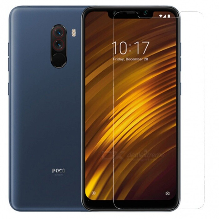 ASLING 2.5D Arc Edge Tempered Glass Screen Film for Xiaomi Pocophone F1