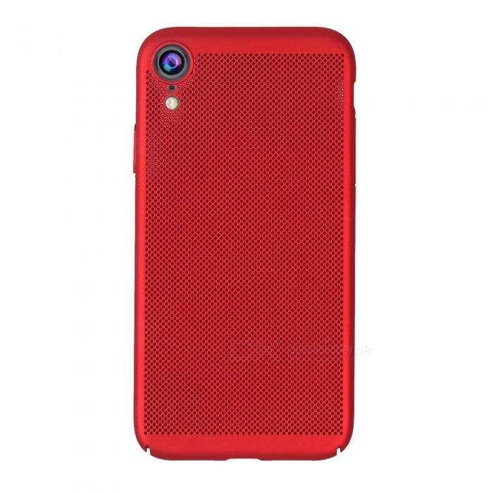 Ultra-thin Protective Plastic Back Cover Case for iPhone XR - Red