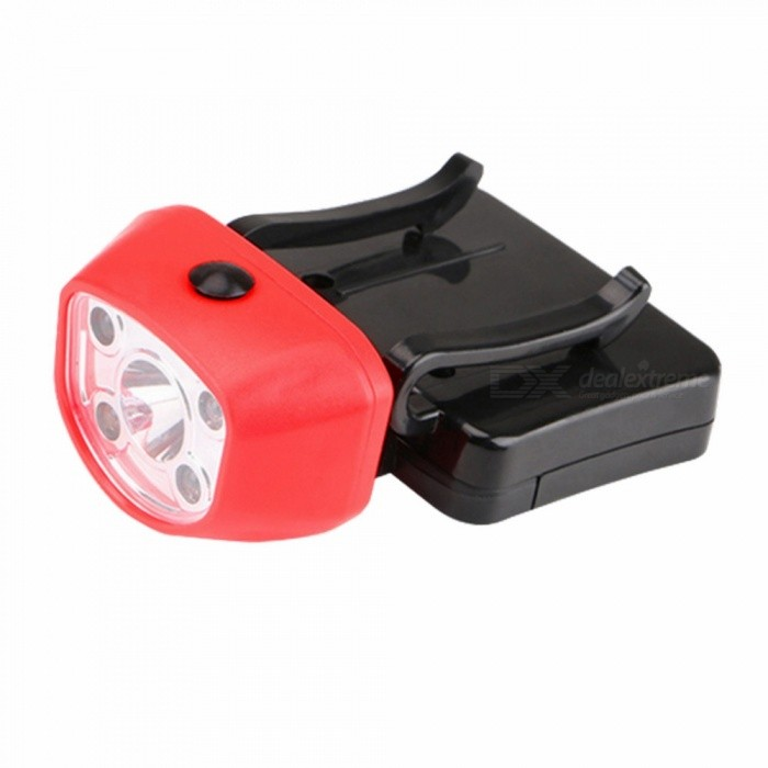 ZHISHUNJIA YH-8447 LED Strong Light Induction Headlamp Hat Lamp Red