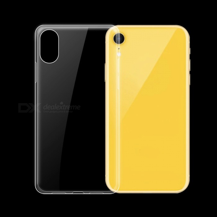 Dayspirit Ultra-Thin Protective TPU Back Case for IPHONE XR 6.1""