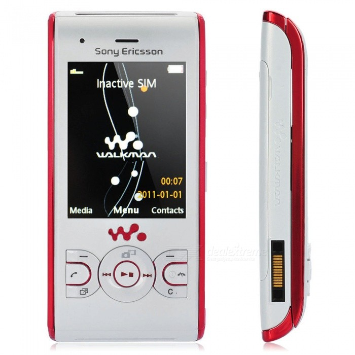 Sony Ericsson W595 Slider Phone 2.2 inch - White