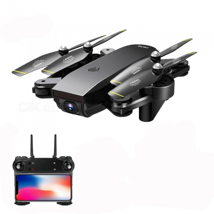 SG700 Wi-Fi FPV Foldable Selfie Mini RC Helicopter Quadcopter Drone with HD 720P 2.0MP Camera, Optical Flow Positioning