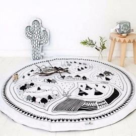 Europe-And-America-Children-s-Play-Mats-Crawling-Pad-Game-Carpet-Baby-Home-Printing-Rug-860MMWhite