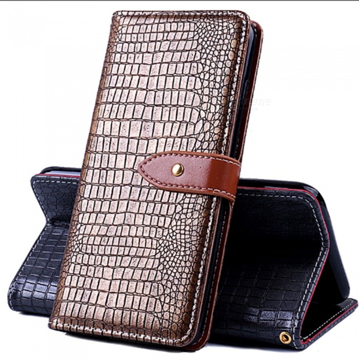 Naxtop Phone Wallet Case, Flip PU Leather and Soft TPU Inner sleeve Holder Cover Case for LG Q7