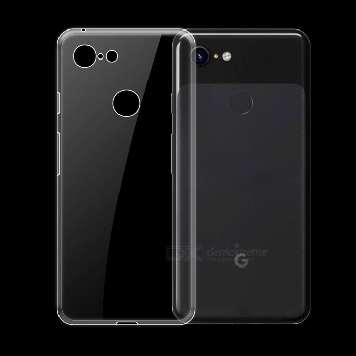 Dayspirit Ultra-Thin Protective TPU Back Case for Google Pixel 3
