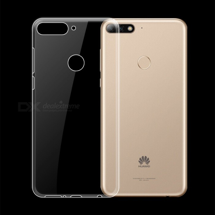 Dayspirit Ultra-Thin Protective TPU Back Case for Huawei Honor 7C ,Enjoy 8