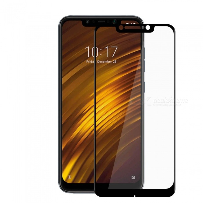 3D Full Cover Tempered Glass Screen Protector Film for Xiaomi Pocophone F1