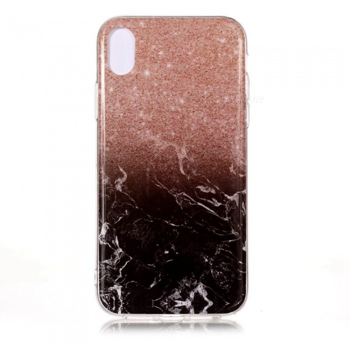 ESAMACT Soft Silicone Cover, TPU Marble Phone Case for IPHONE XS MAX
