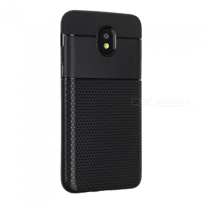 Ultra-thin TPU Soft Back Cover Case for Samsung Galaxy J3 (2018) - Black