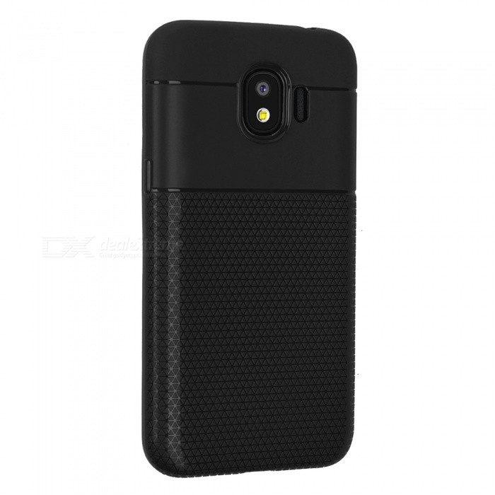 Ultra-thin TPU Soft Back Cover Case for Samsung Galaxy J2 Pro (2018) - Black