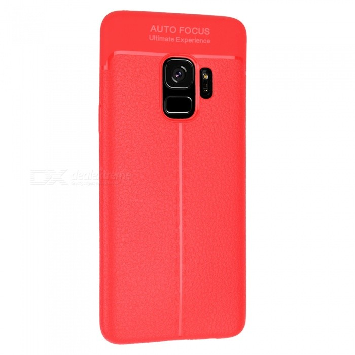 Lichdee Pattern Protective TPU Back Cover Case for Samsung Galaxy S9 - Red