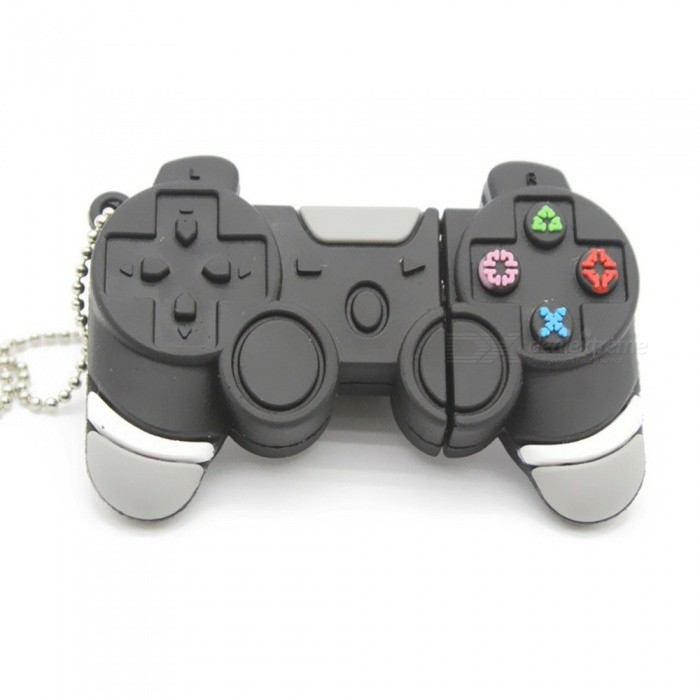 1pc 32GB Playstation Remote Controller Keychain USB Flash Thumb Drive USA Shipp