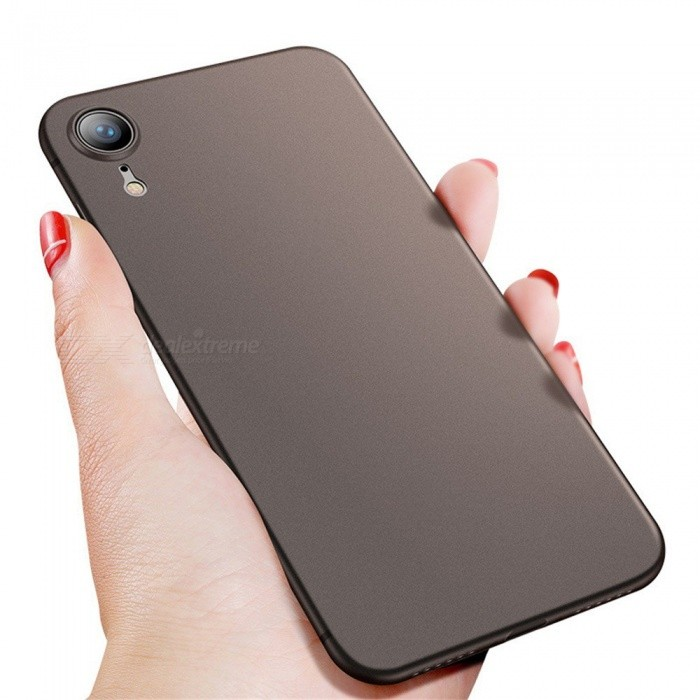 Mobile Phone Ultrathin Fitted Case Matte TPU Business Dirt-resistant Cases For IPhone XR/X Black/TPU