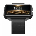DOMINO DM99 Android 3G Smart Watch Phone with 1200mAh Battery - Black