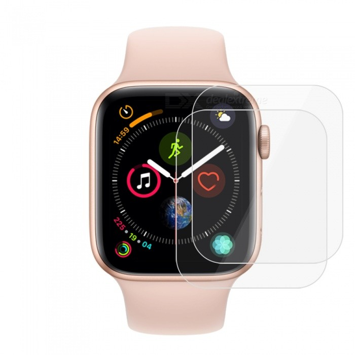 2pcs 9H Tempered Glass Screen Protector Films for Apple Watch Series 4 40mm