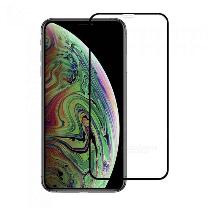 Mini Smile 3D 0.2mm Ultra-thin 9H Full Coverage Tempered Glass Screen Protector Film for IPHONE XS