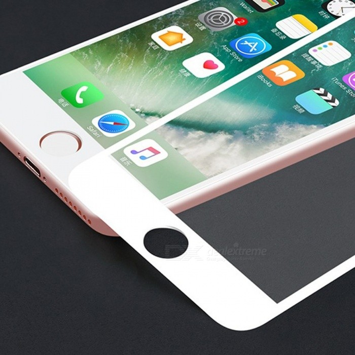 Full Coverage Explosion-proof Clear HD Silk Tempered Glass Screen Protector Film For IPHONE XR