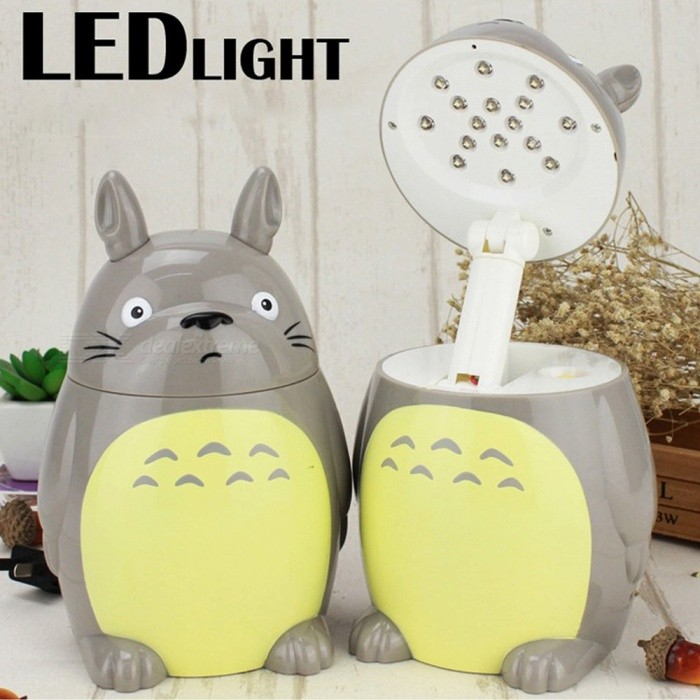 Cute-Totoro-Anime-LED-Desk-Lamp-Cartoon-Rechargeable-Energy-efficient-Night-Light-Foldable-Learning-Light-Gray