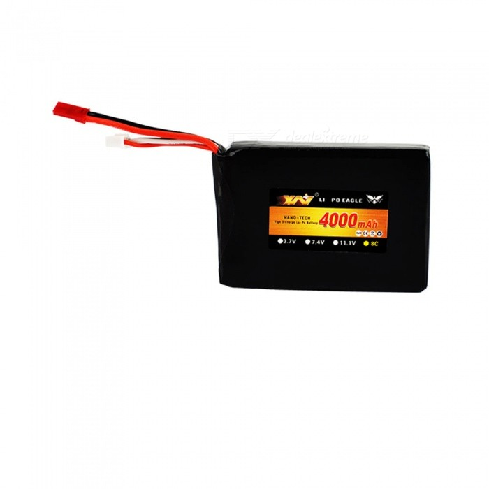 3S 11 1V 4000mAh 8C RC LiPo Airplane battery For RC Helicopter Quadrotor  Drone Car Boat Truck