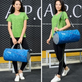 Large-Capacity-Waterproof-Outdoor-Sports-Fitness-Gym-Bag-Handbag-Multifunction-Travel-Shoulder-Bag-With-Space-For-Shoes-Black