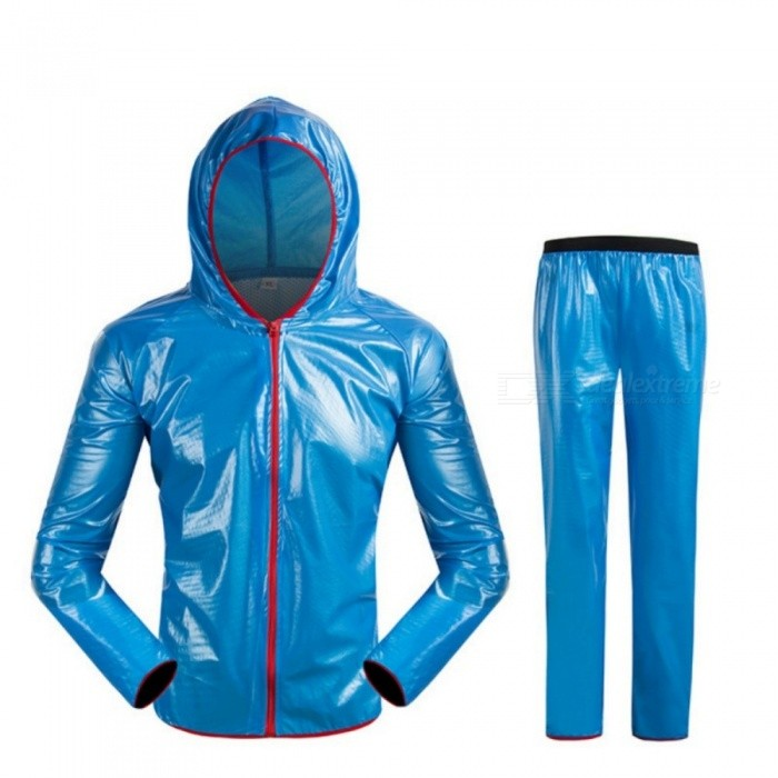 JEDX-Bicycle-Cycling-Labour-Protector-Solar-Impermeable-Poncho-Raincoat-M