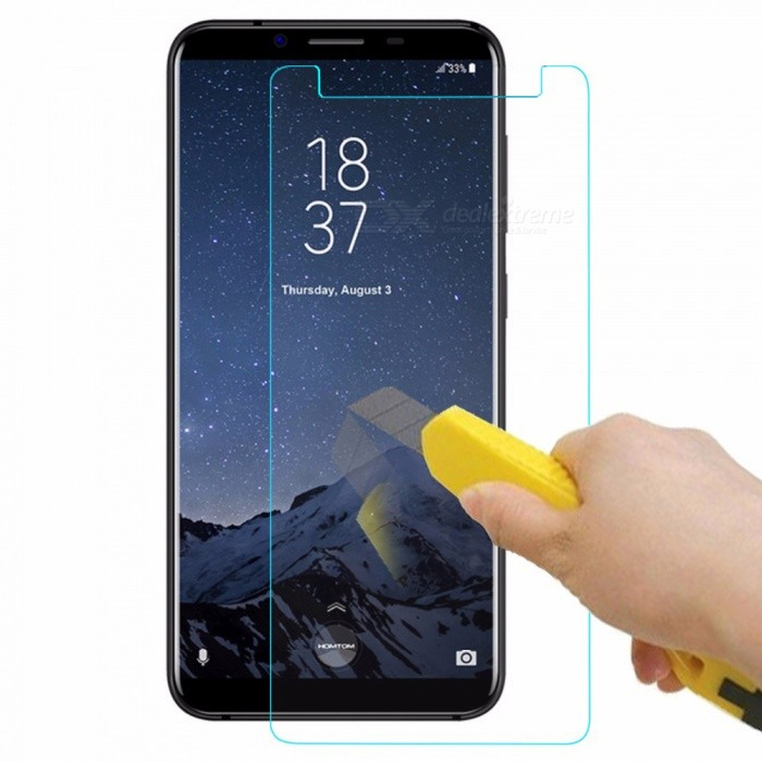 Naxtop Tempered Glass Transparent Screen Protector for HOMTOM S8