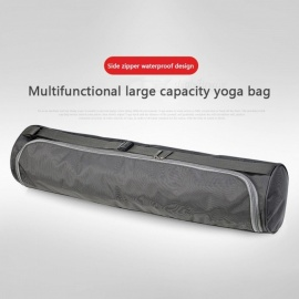 Multifunction-Waterproof-Lightweight-Yoga-Mat-Backpack-Oxford-Cloth-Gym-Fitness-Bag-Sports-Supplies-Gray
