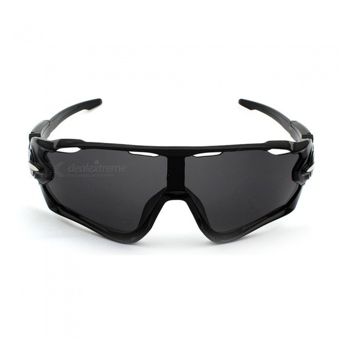 16365d0c61 ... Cycling Sunglasses Sand-proof Outdoor Sport Bicycle Goggles Women Men  Riding Bike Clear Glasses Black ...