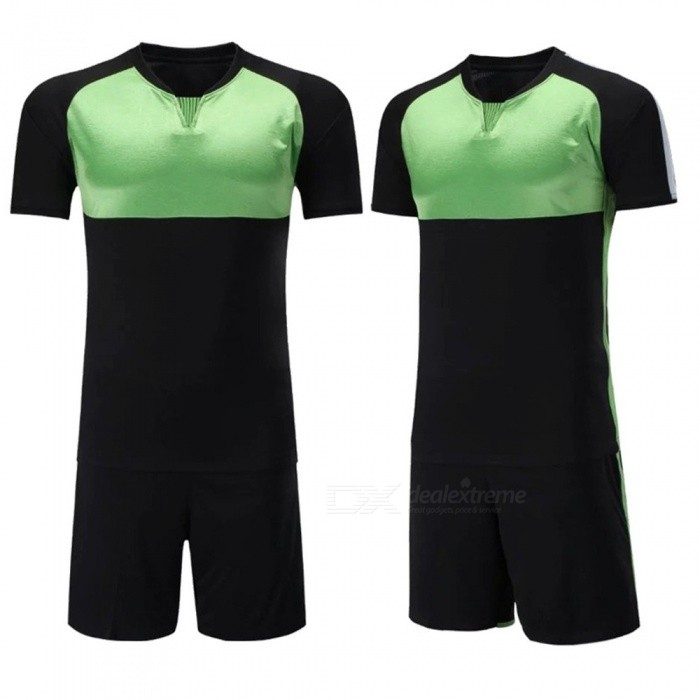 Breathable | Football | Soccer | Jersey | Sleeve | Train | Sport | Short | Suit | Men