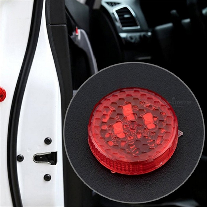 Quelima Free Wiring 5 LED Flashing Anti-collision Lights Door Warning  Lights LED Decorative Lights (2 for a Group)