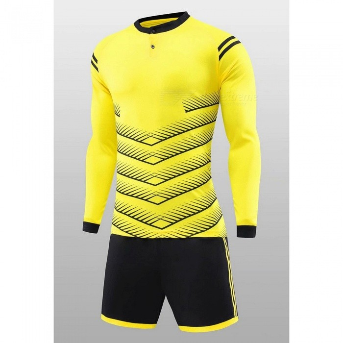 2f041032 Long Sleeve Team Soccer Uniforms, Football Jersey Soccer Kit, Football  Training Set Sports Suit ...